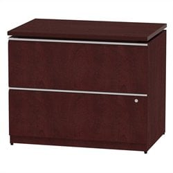 Bush BBF Milano2 36W 2Dwr Lateral File in Harvest Cherry