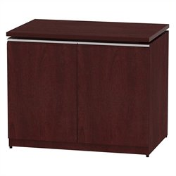 Bush BBF Milano2 36W Storage Cabinet in Harvest Cherry