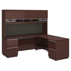 Milano2 72W x 24D Left-Handed L Station with Hutch