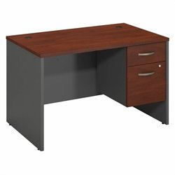 Series C Collection 48W X 30D Desk Shell with 2 Pedestals