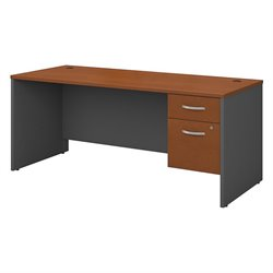 Series C Collection 72W X 30D Desk Shell with 2 Pedestals 1