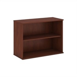 Bush Business Furniture 30H 2 Shelf Bookcase in Hansen Cherry