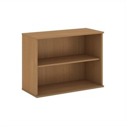Bush Business Furniture 30H 2 Shelf Bookcase in Modern Cherry