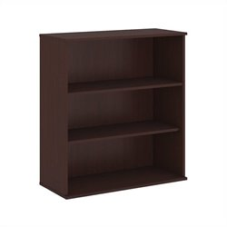 Bush BBF 48H 3 Shelf Bookcase in Harvest Cherry