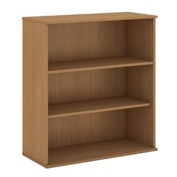 Bush BBF 48H 3 Shelf Bookcase in Modern Cherry