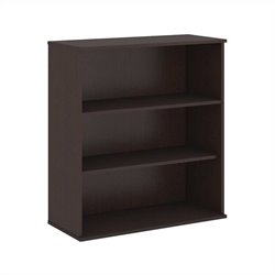 Bush Business Furniture 48H 3 Shelf Bookcase in Mocha Cherry