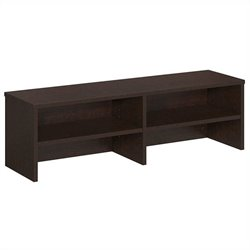 Bush BBF Series C Elite 60W Desk Top Organizer in Mocha Cherry