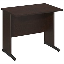 Bush BBF Series C Elite 36W x 24D C-Leg Desk in Mocha Cherry