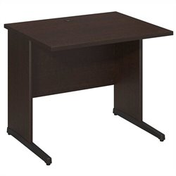 Bush BBF Series C Elite 36W x 30D C-Leg Desk in Mocha Cherry