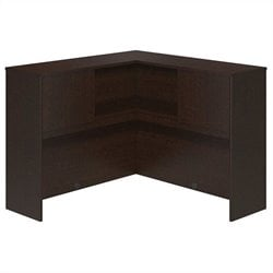 Bush BBF Series C Elite 48W Corner Hutch in Mocha Cherry