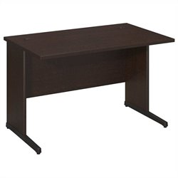 Bush BBF Series C Elite 48W x 30D C-Leg Desk in Mocha Cherry