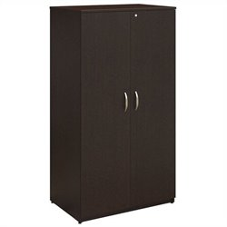 Bush BBF Series C Elite 36W Storage Wardrobe Tower in Mocha Cherry