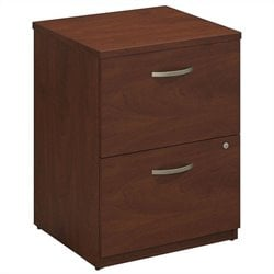 Bush BBF Series C Elite 24W 2 Drawer Pedestal in Hansen Cherry