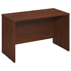 Bush BBF Series C 48W x 24D Desk-Credenza in Hansen Cherry