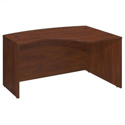 Bush BBF Series C 60Wx43D Right Hand L-Bow Desk Shell in Hansen Cherry