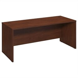 Bush BBF Series C Elite 72W x 30D Desk Shell in Hansen Cherry