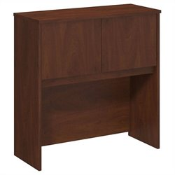 Bush BBF Series C Elite 36W Hutch in Hansen Cherry