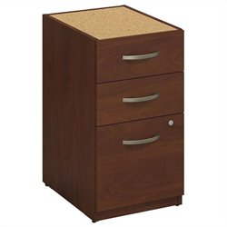 Bush BBF Series C Elite 16W 3 Drawer Pedestal in Hansen Cherry