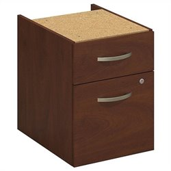 Bush BBF Series C Elite 2 Drawer 3-4 Pedestal in Hansen Cherry