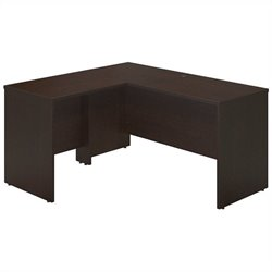 Bush BBF Series C Elite 60x24 Desk Shell with 30W Return in Mocha Cherry