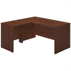 Bush BBF Series C Elite 60x30 Desk Shell with 30W Return in Hansen Cherry