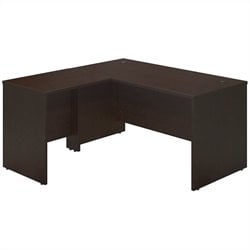 Bush BBF Series C Elite 60x30 Desk Shell with 30W Return in Mocha Cherry