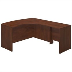 Bush Business Furniture Series C Elite RH Corner Desk Hansen Cherry