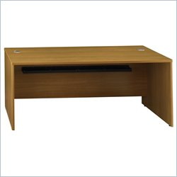Bush BBF Quantum 72W Desk Shell in Modern Cherry
