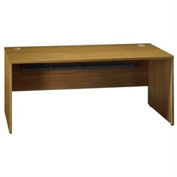 Bush Business Furniture Quantum 72W Credenza Shell in Modern Cherry