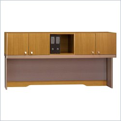 Bush BBF Quantum 72W Hutch (Tall) in Modern Cherry