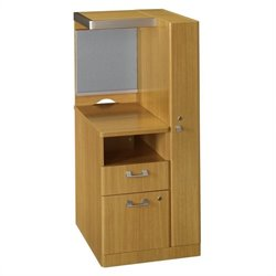 Bush BBF Quantum RH Storage Tower 2 Drawer Kit in Modern Cherry