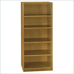 Bush BBF Quantum 30W 5-Shelf Bookcase in Modern Cherry