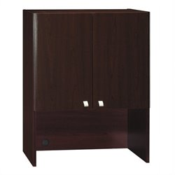 Bush Business Furniture Quantum 30W Hutch (Tall) in Harvest Cherry
