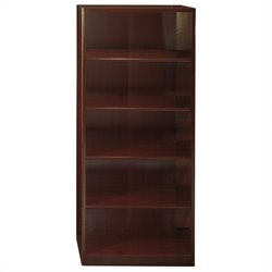 Bush Business Furniture Quantum 30W 5-Shelf Bookcase in Harvest Cherry
