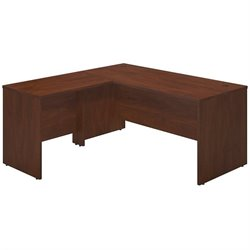 Bush BBF Series C Elite 66W x 30D L Computer Desk in Hansen Cherry