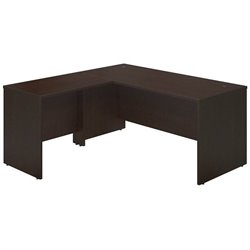 Bush BBF Series C Elite 66W x 30D L Computer Desk in Mocha Cherry