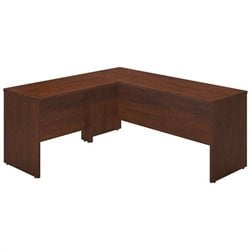Bush BBF Series C Elite 72W x 24D L Computer Desk in Hansen Cherry