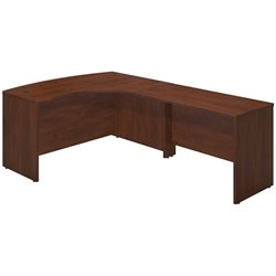 Bush BBF Series C Elite 60Wx43D Right L Computer Desk in Hansen Cherry