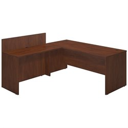 Bush BBF Series C Elite 72W x 30D L Computer Desk in Hansen Cherry