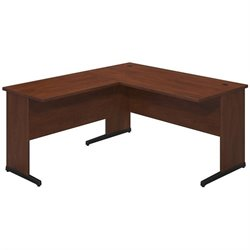 Bush BBF Series C Elite 60Wx30D C Leg L Computer Desk in Hansen Cherry
