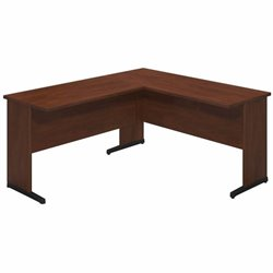 Series C Elite 60W x 24D C Leg Desk with 42W Return