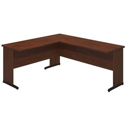 Series C Elite 72W x 24D C Leg Desk with 42W Return