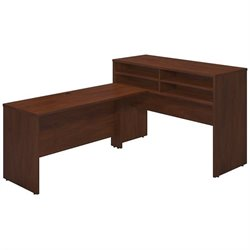 Bush BBF Series C Elite 60W x 24D Standing L Shaped Office Set