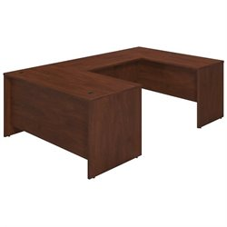 Bush BBF Series C Elite 60W x 30D U Desk Office Set in Hansen Cherry