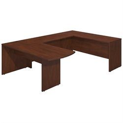 Bush BBF Series C Elite 72W x 30D U Office Set in Hansen Cherry