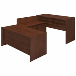Bush BBF Series C Elite 72W x 30D Standing U Office Set