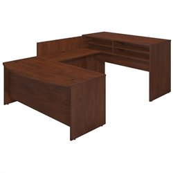 Bush BBF Series C Elite 72Wx36D Standing Bow U Desk Office Set