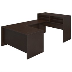 Bush BBF Series C Elite 60W x 30D Standing U Desk Office Set