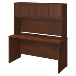 Bush BBF Series C Elite 60W x 24D Computer Desk Shell in Hansen Cherry