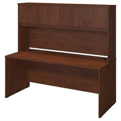 Bush BBF Series C Elite 72W x 30D Computer Desk Shell in Hansen Cherry